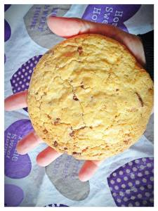 Cookies de chocolate con nueces de macadamia